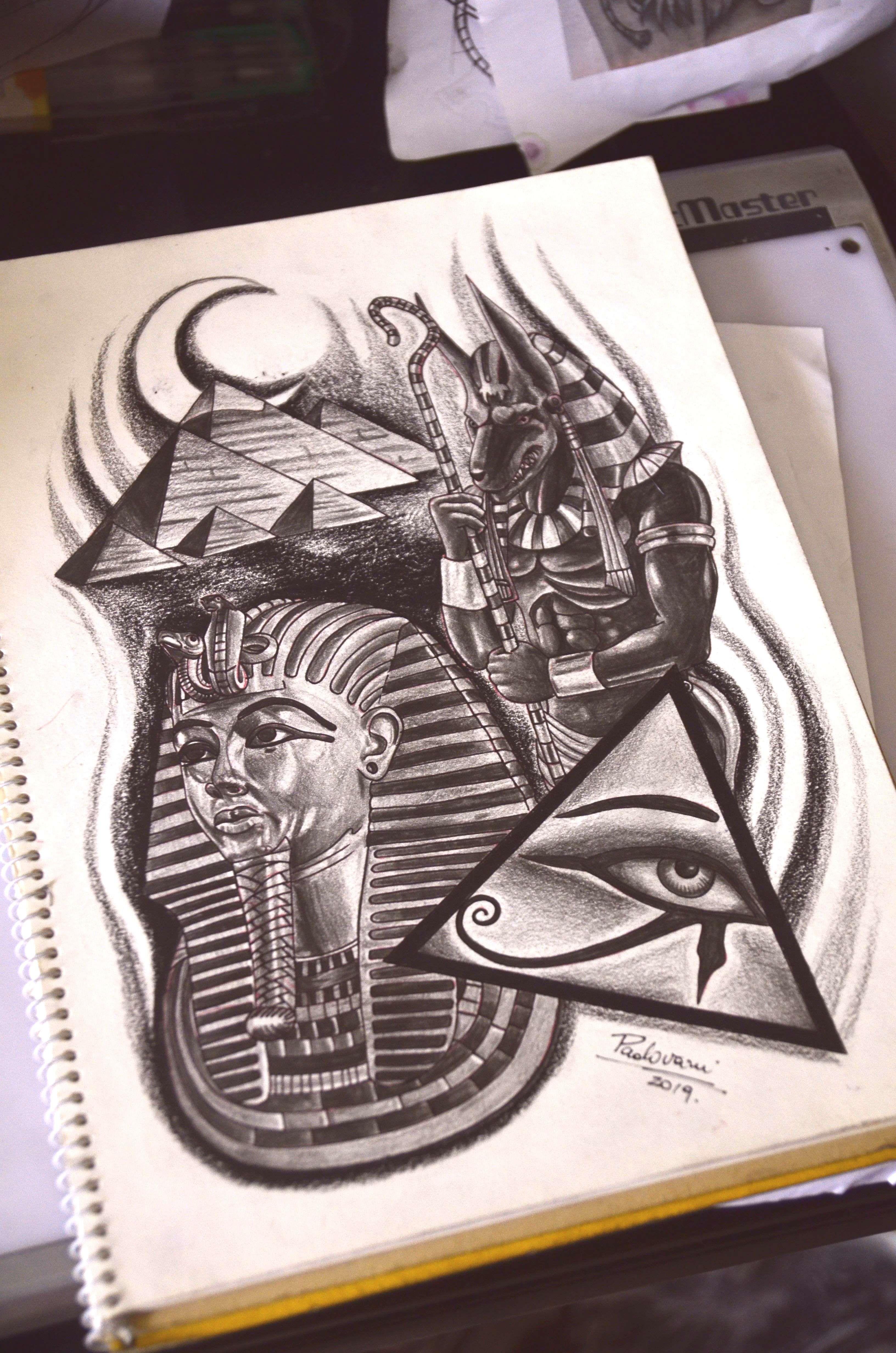 Egypt Tattoo Sketch By Thiago Padovani Egypt Tattoo Sketch By Thiago Padovani In 2020 Egypt Tattoo Egypt Tattoo Design Egyptian Tattoo Sleeve