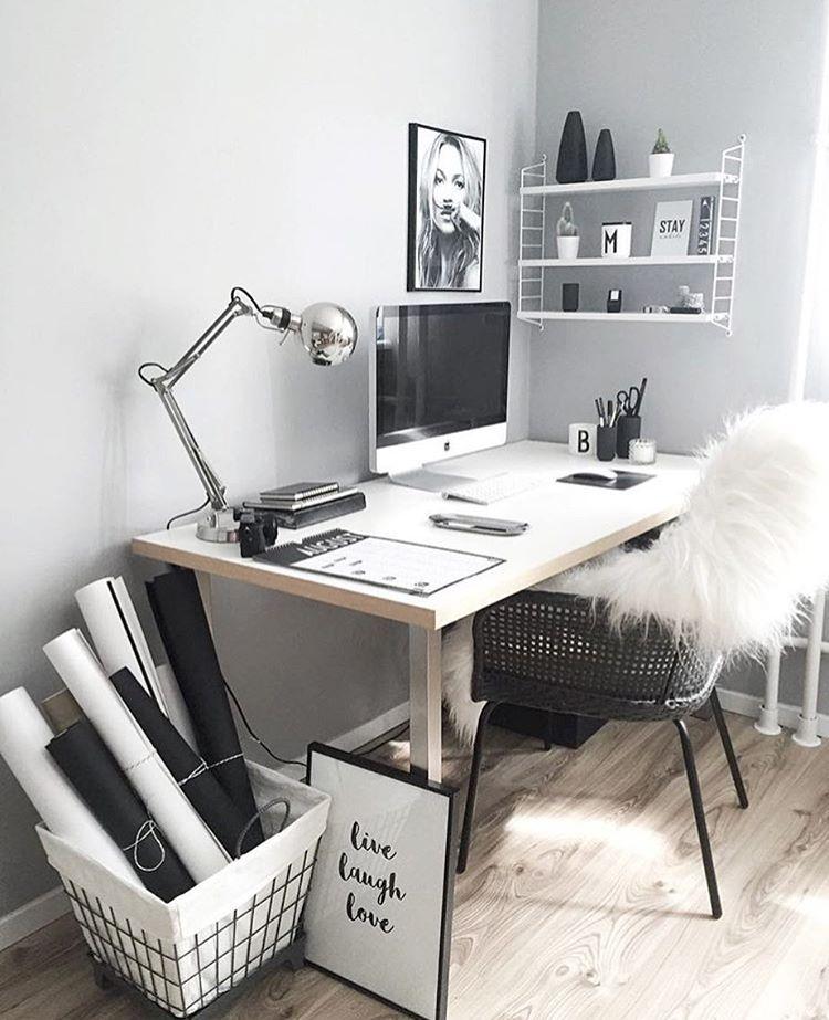 Home Office, Workspace, Gemütlicher Arbeitsplatz Zuhause