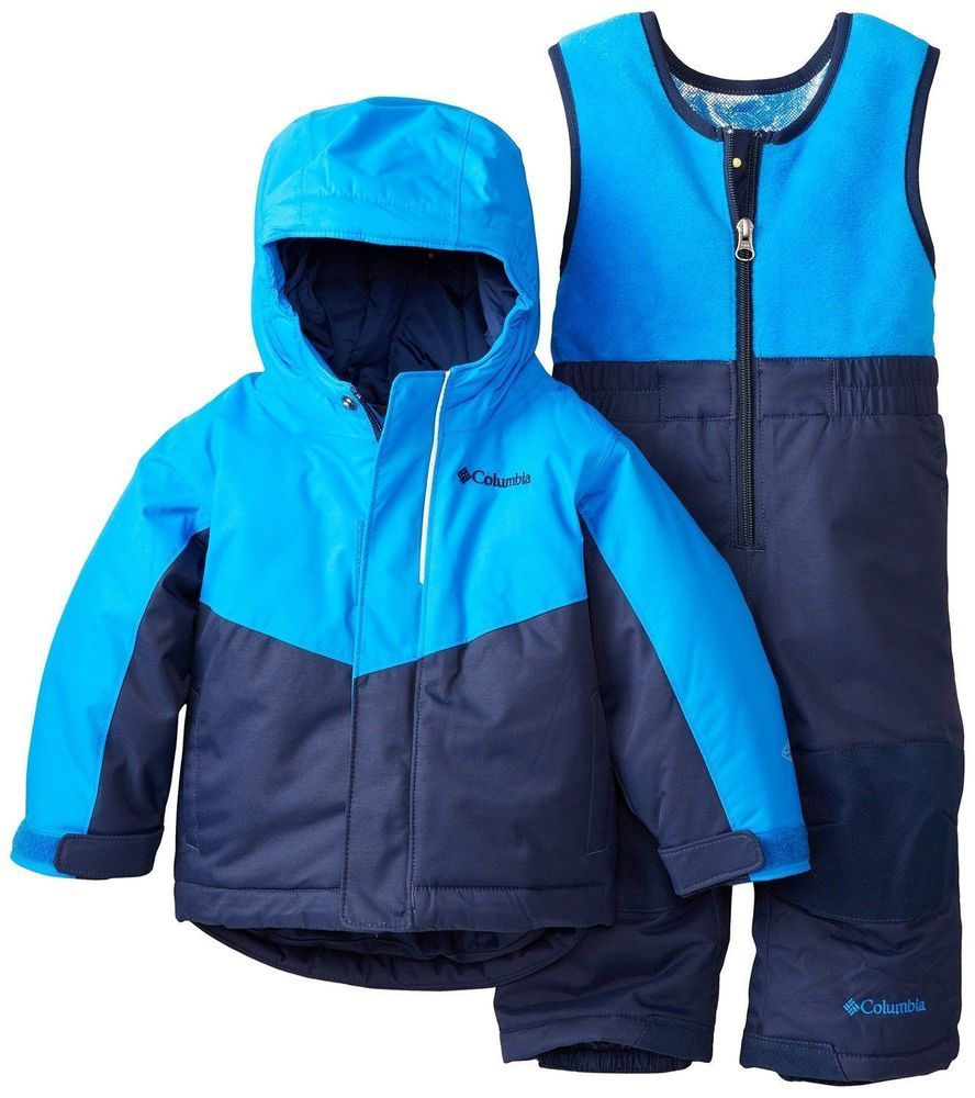 6a6d5b020 COLUMBIA BABY BOYS BUGA SET SKI JACKET SNOW BIB PANTS INFANT 6 12 ...