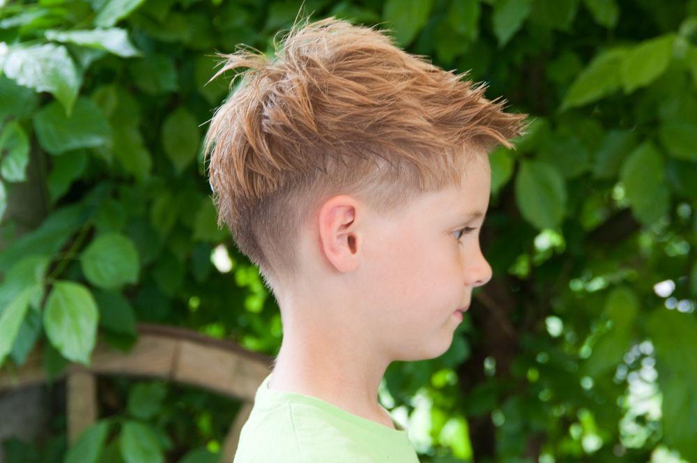 Punk Frisur Kinder Friseur