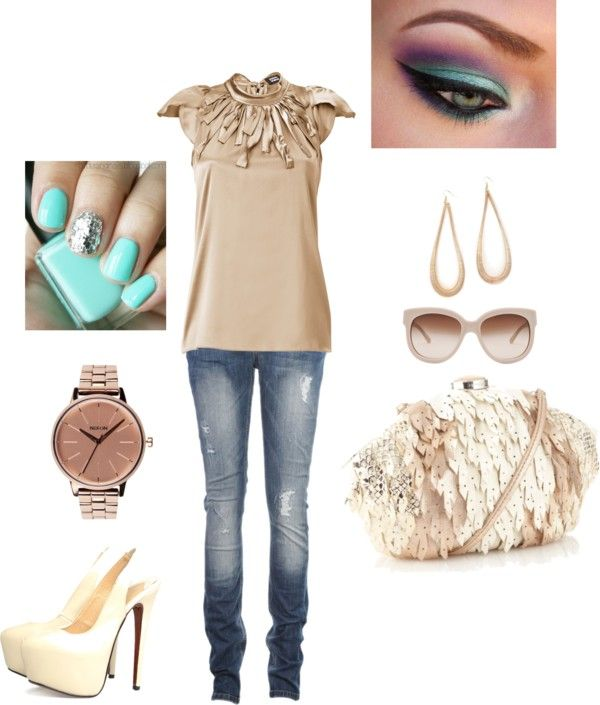"""out to lunch"" by gaines3a on Polyvore"