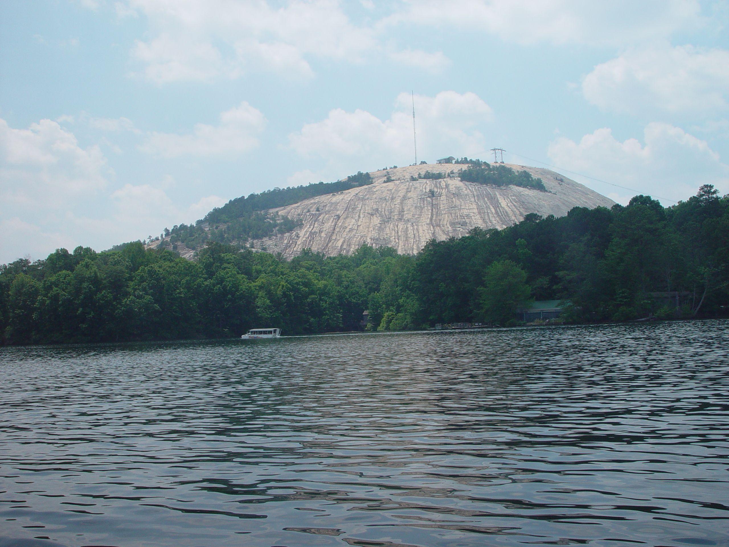 Stone Mountain Lake Venable Lake Kayak Stone Mountain Stone