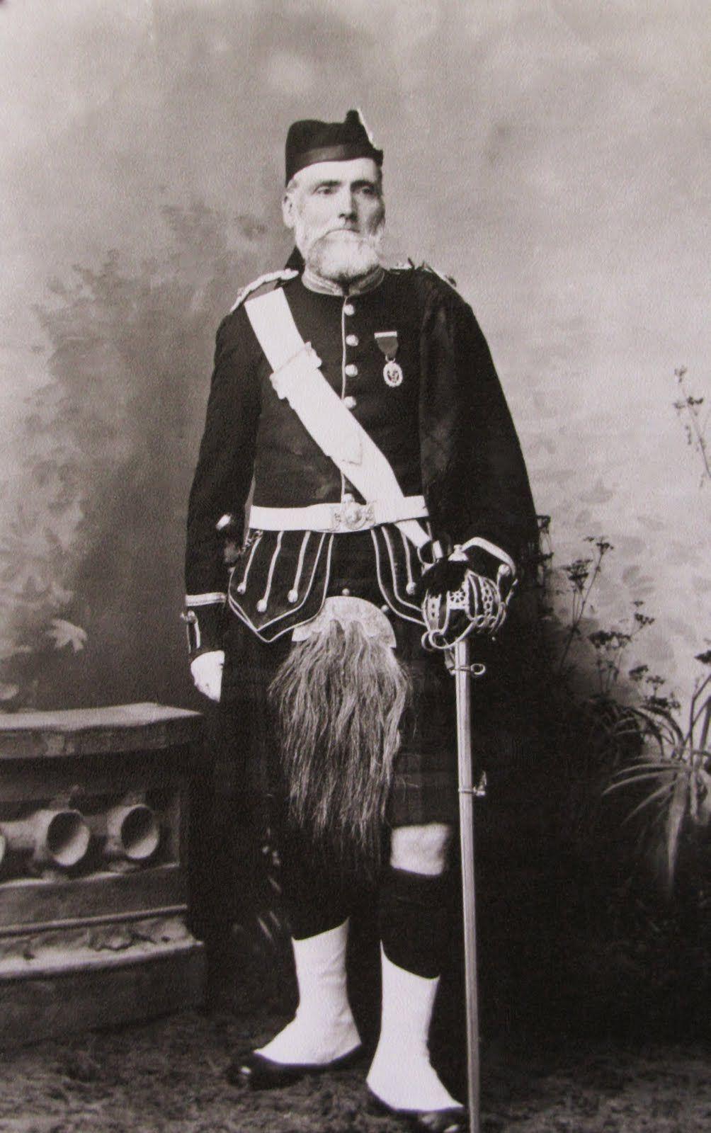 Major Alexander Coghill, 1st Sutherland Highland Rifle Volunteers