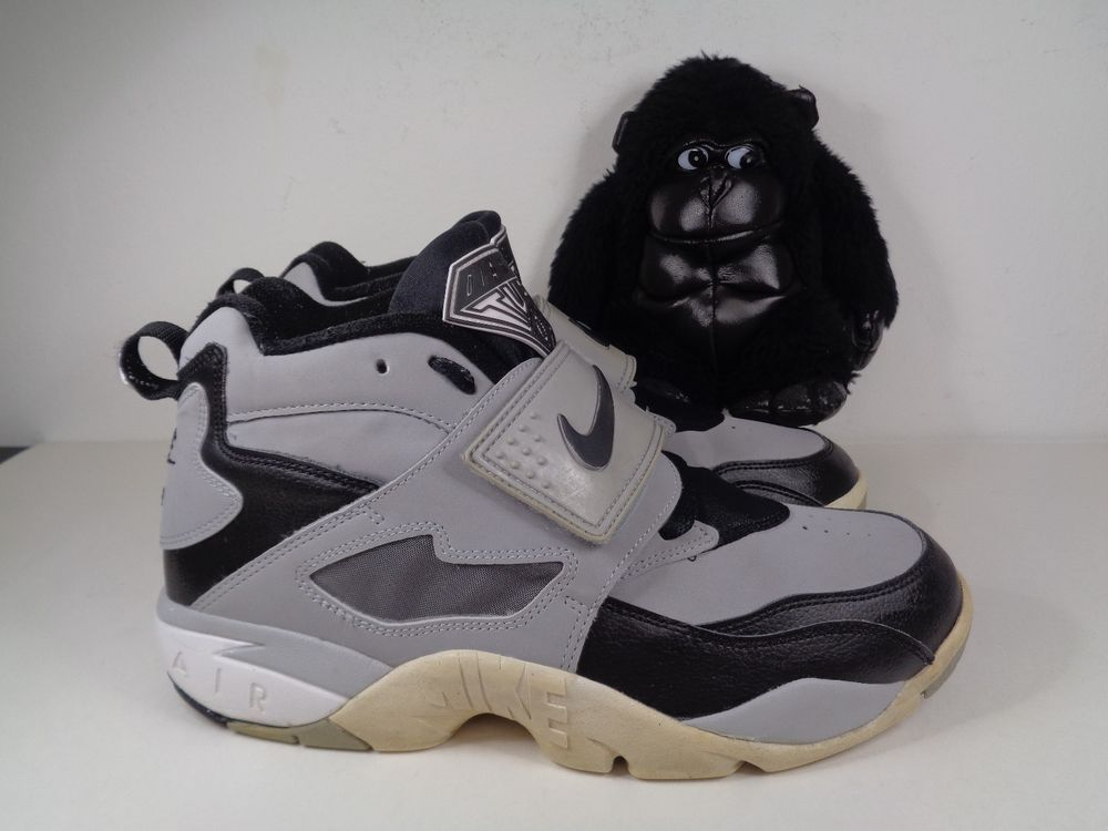 21e353da5913fe Mens Nike Air Diamond Turf Grey Black Basketball shoes size 9 US 309434-012   Nike  BasketballShoes