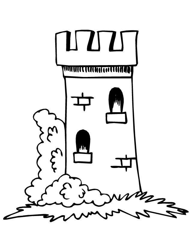 Dessin chateau tour recherche google chateau - Chateaux dessin ...