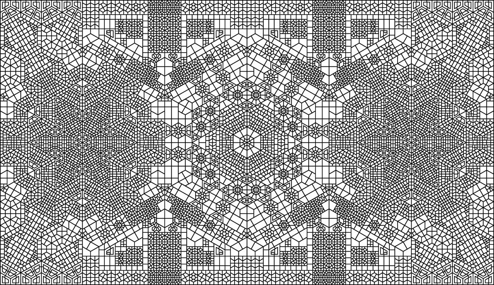 Algoritmos generativos se convierten en alfombras - Alfombras orientales ...