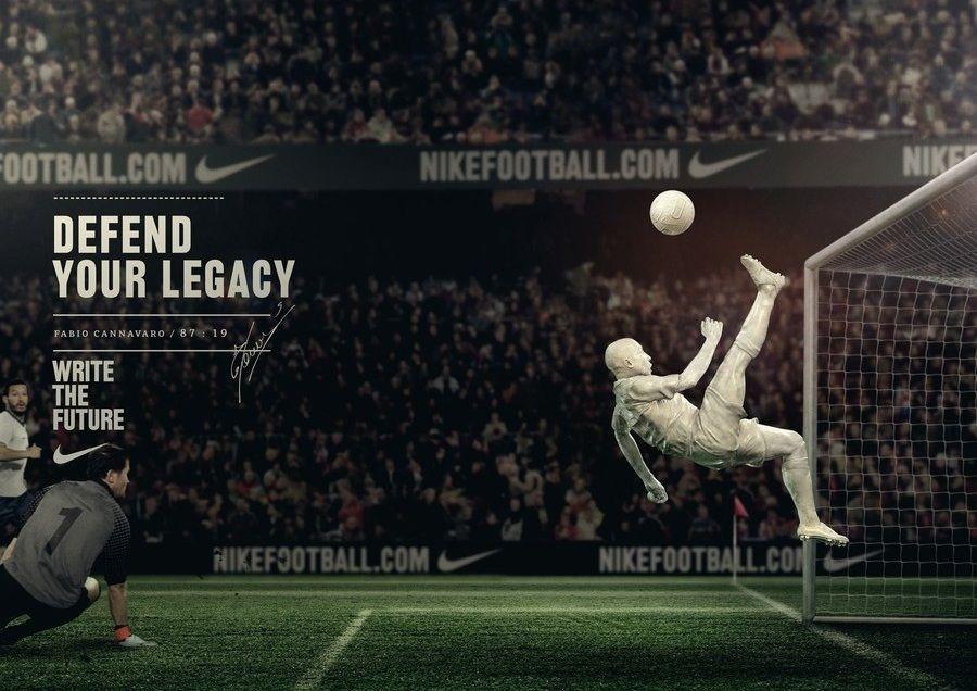 Reproducir hombro creciendo  Fabio Cannavaro | Nike football, Nike campaign, You are the world