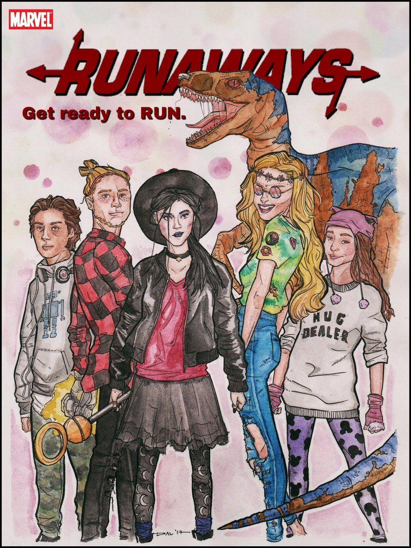 The Runaways 2017 By Davkger Desenhos E Series E Filmes