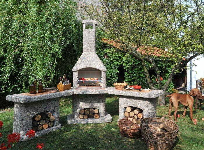 Outdoorküche Mit Grillkamin Wellfire Nova Quattro | Outdoor Im
