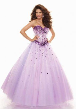 49eb5b1da18 Mori Lee 93012 Light Purple Long Corset Top Princess Prom Dress ...