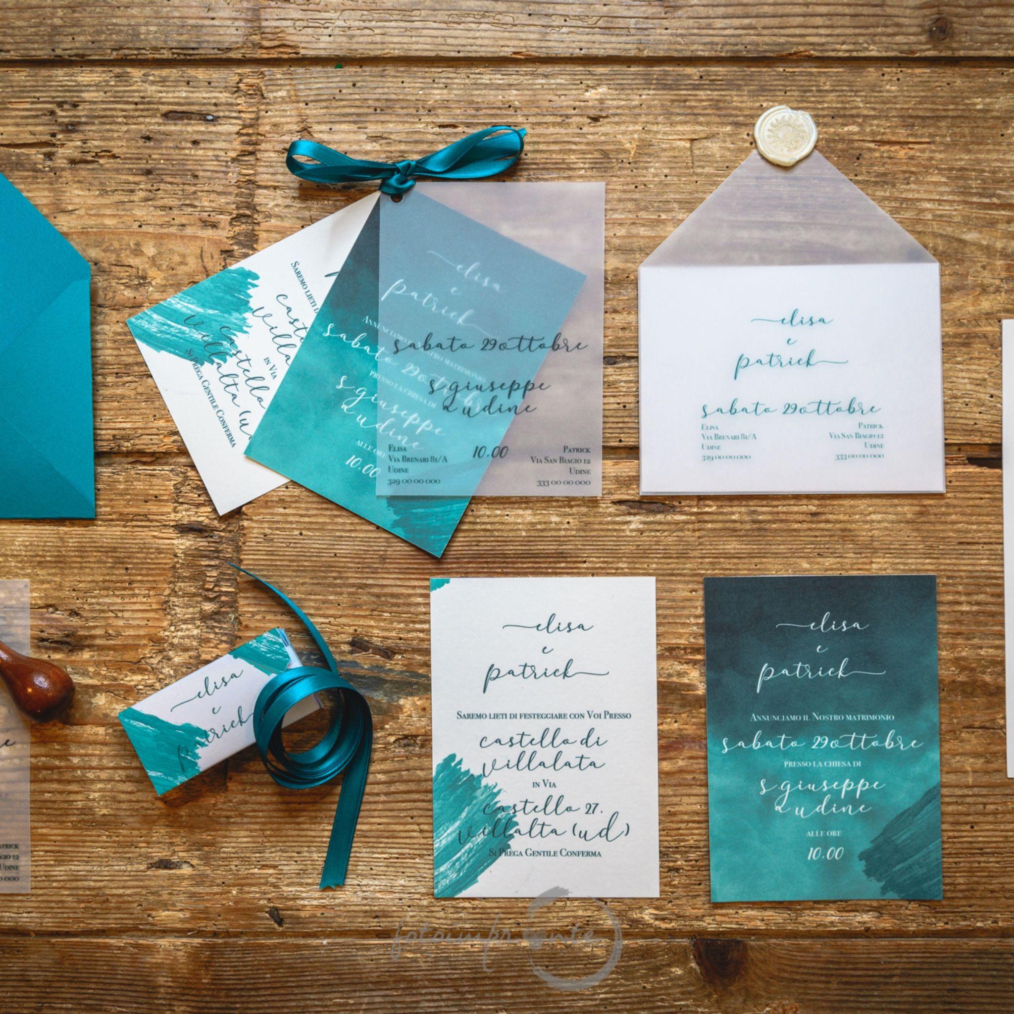 Partecipazioni Matrimonio Udine.Carta Cotone Battuta Carta Satin Traslucida E Tanta Fantasia