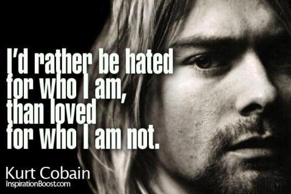 Kurt Cobain Quote Nirvana Quotes Pinterest Quotes Kurt