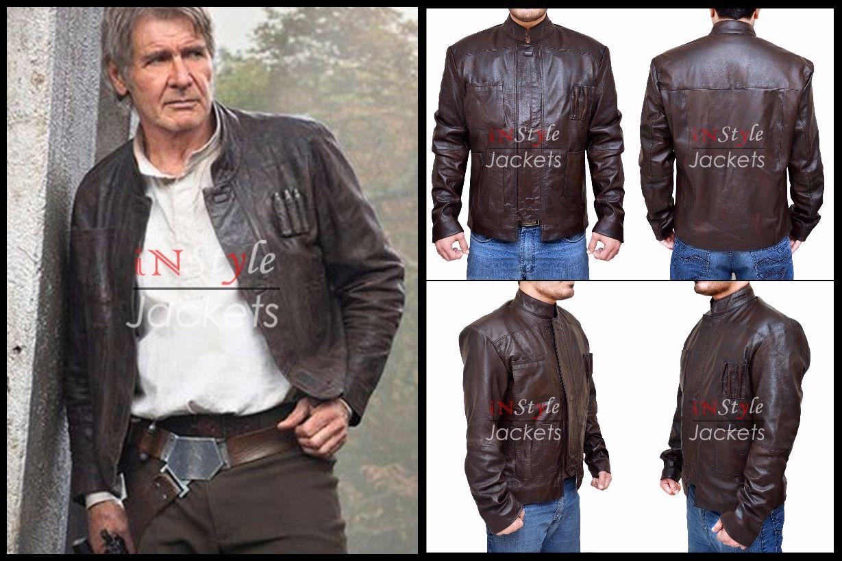 Star Wars Han Solo Harrison Ford Jacket Leather Jackets For Sale Star Wars Han Solo Jackets [ 820 x 1229 Pixel ]