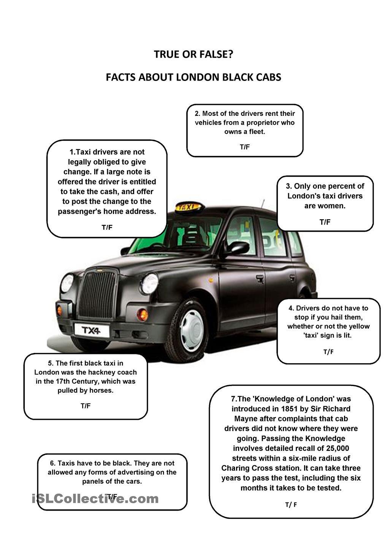 London Black Cab London Black Cab Black Cab Teaching English [ 1440 x 1018 Pixel ]