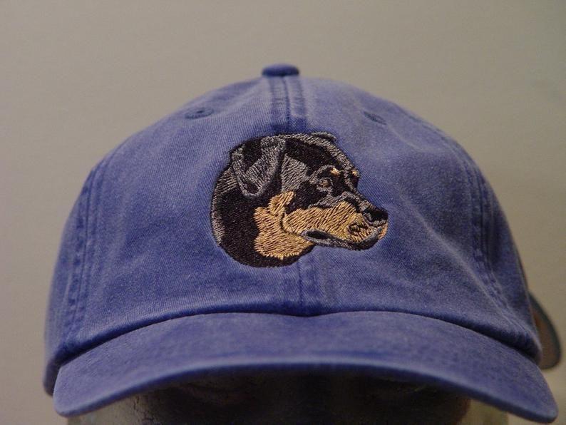 Dog Painting Classic Baseball Cap Men Women Dad Hat Twill Adjustable Size Black