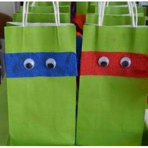 Teenage Mutant Ninja Turtle Loot Bag Kit fantasykidsparties.com.au