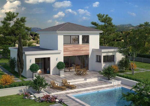 un large espace vivre jouxt d 39 une cuisine ouverte avec son cellier attenant 3 chambres 1. Black Bedroom Furniture Sets. Home Design Ideas