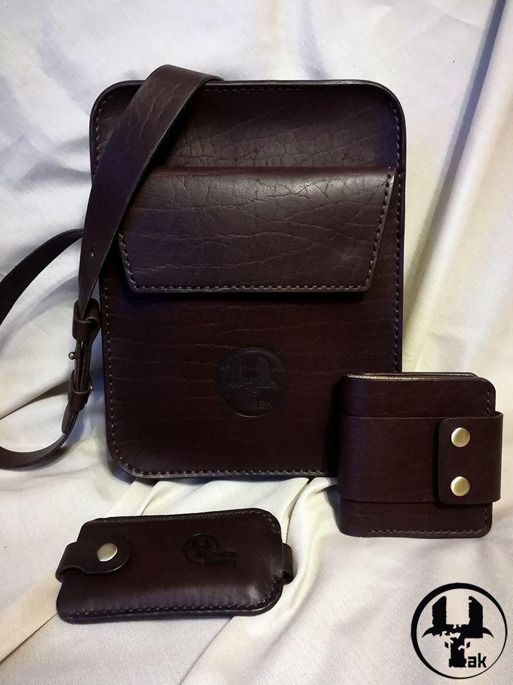 e9ac36191e10 Мужчины · Сумки · обложка на паспорт / мужская сумка / Кожаная сумка /  кошелек мужской / сумка через плечо