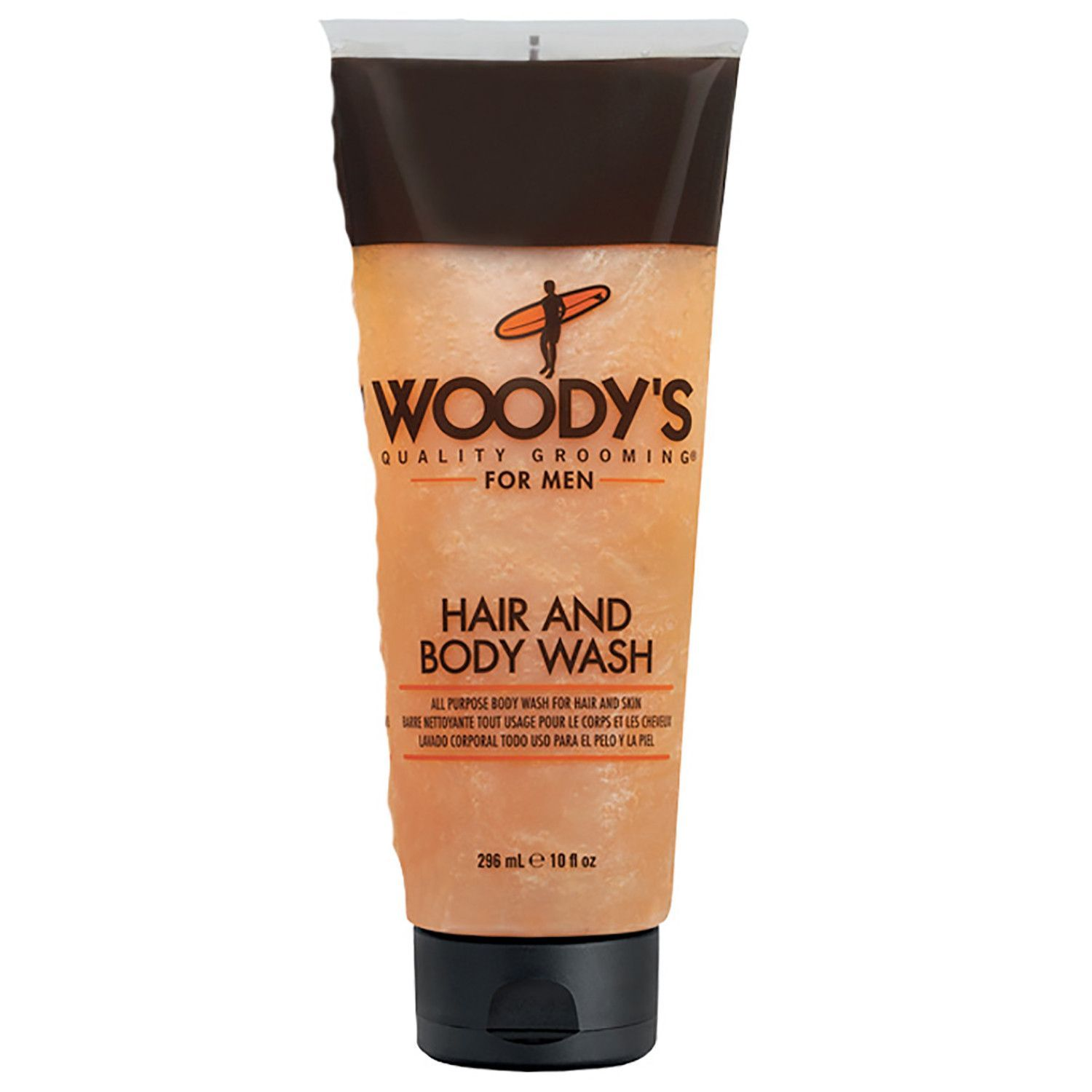 Woody's for Men Hair and Body Wash