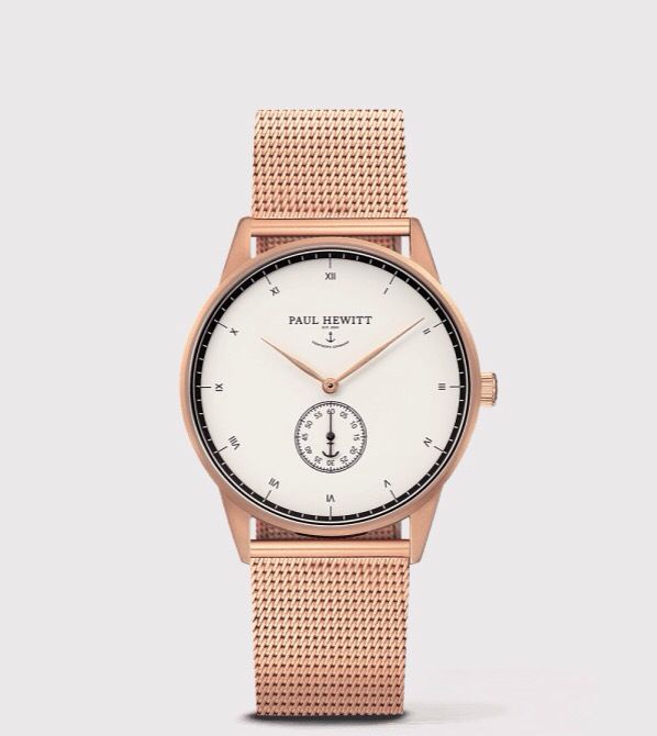 Paul Hewitt Watch Rose Gold Uhr Rosegold Uhr Silber Armband