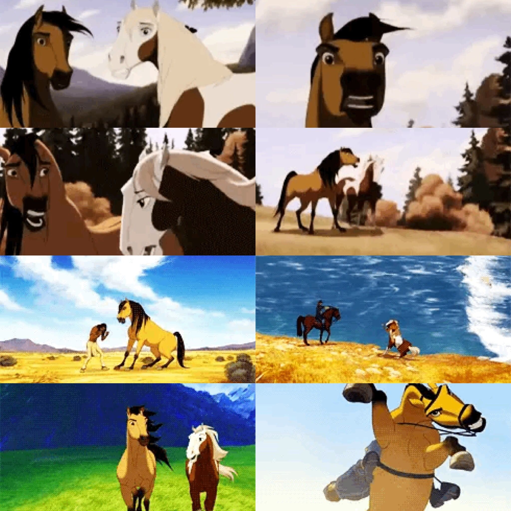 pinkatharina mase on spirit  horse pictures cute