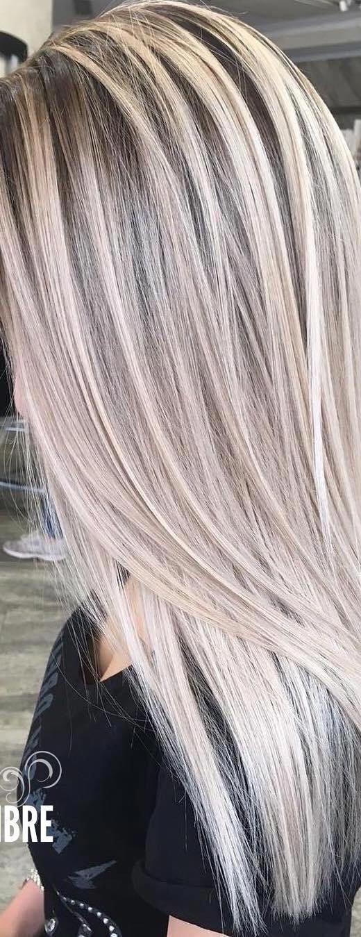 Photo of 10 migliori acconciature lunghe con capelli lisci Idee di colore beige e cenere Sebbene lo …