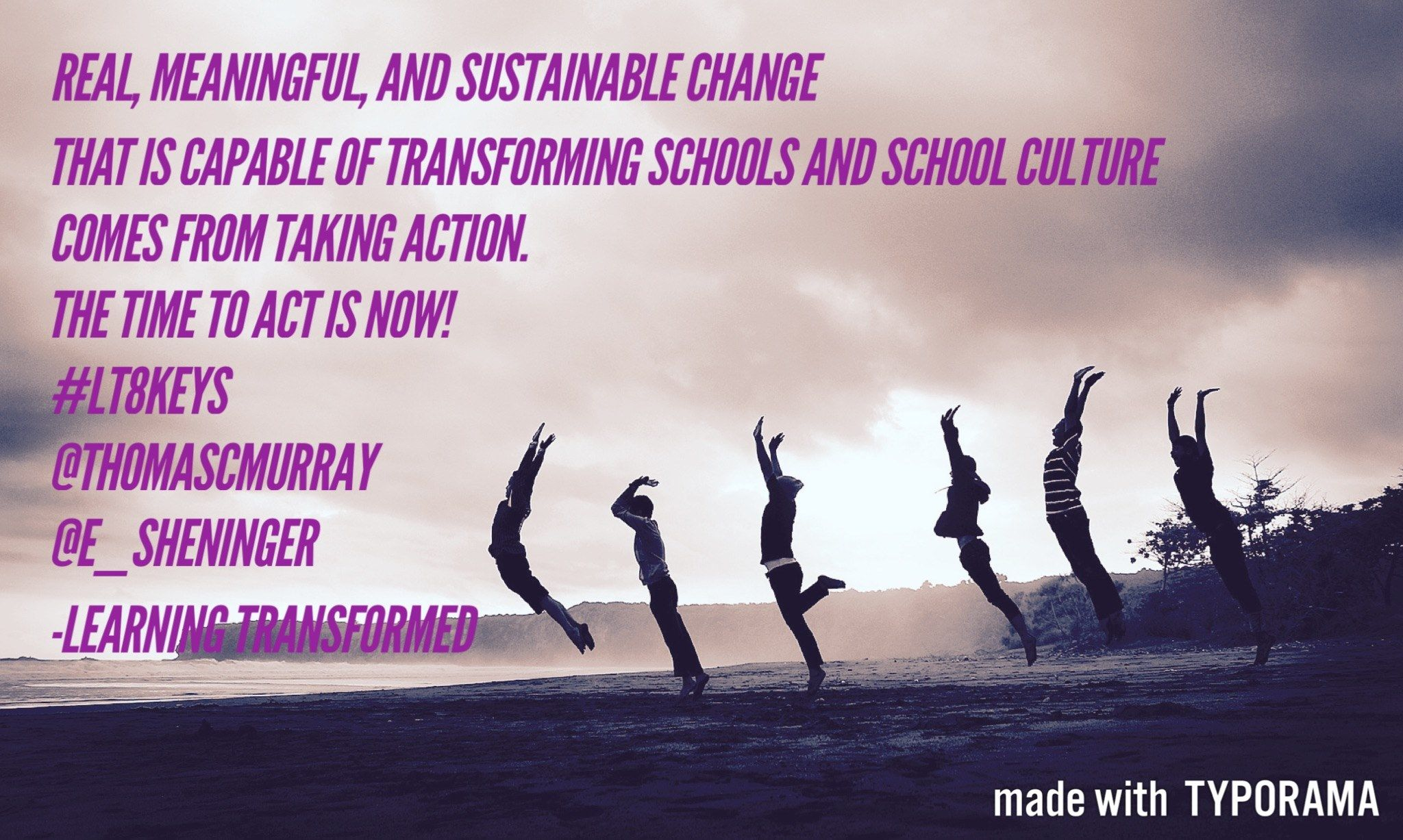 Real Meaningful And Sustainable Change That Is Capable