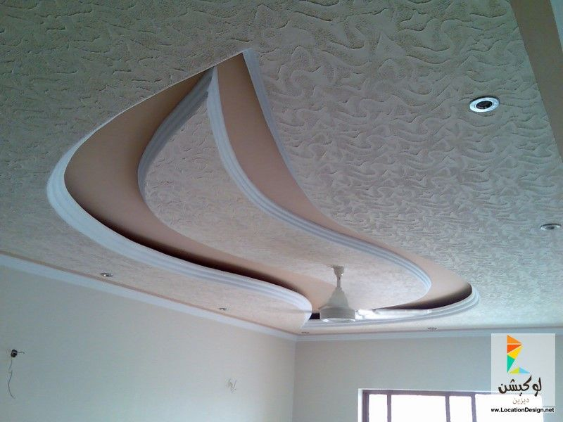ديكورات جبسون بورد لأسقف غرف نوم 2016 لوكشين ديزين نت False Ceiling Design Simple Ceiling Design Gypsum Ceiling