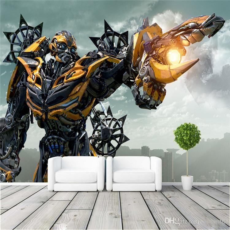 Best Transformers Bumblebee Wall Mural Large Wall Art Photo 400 x 300