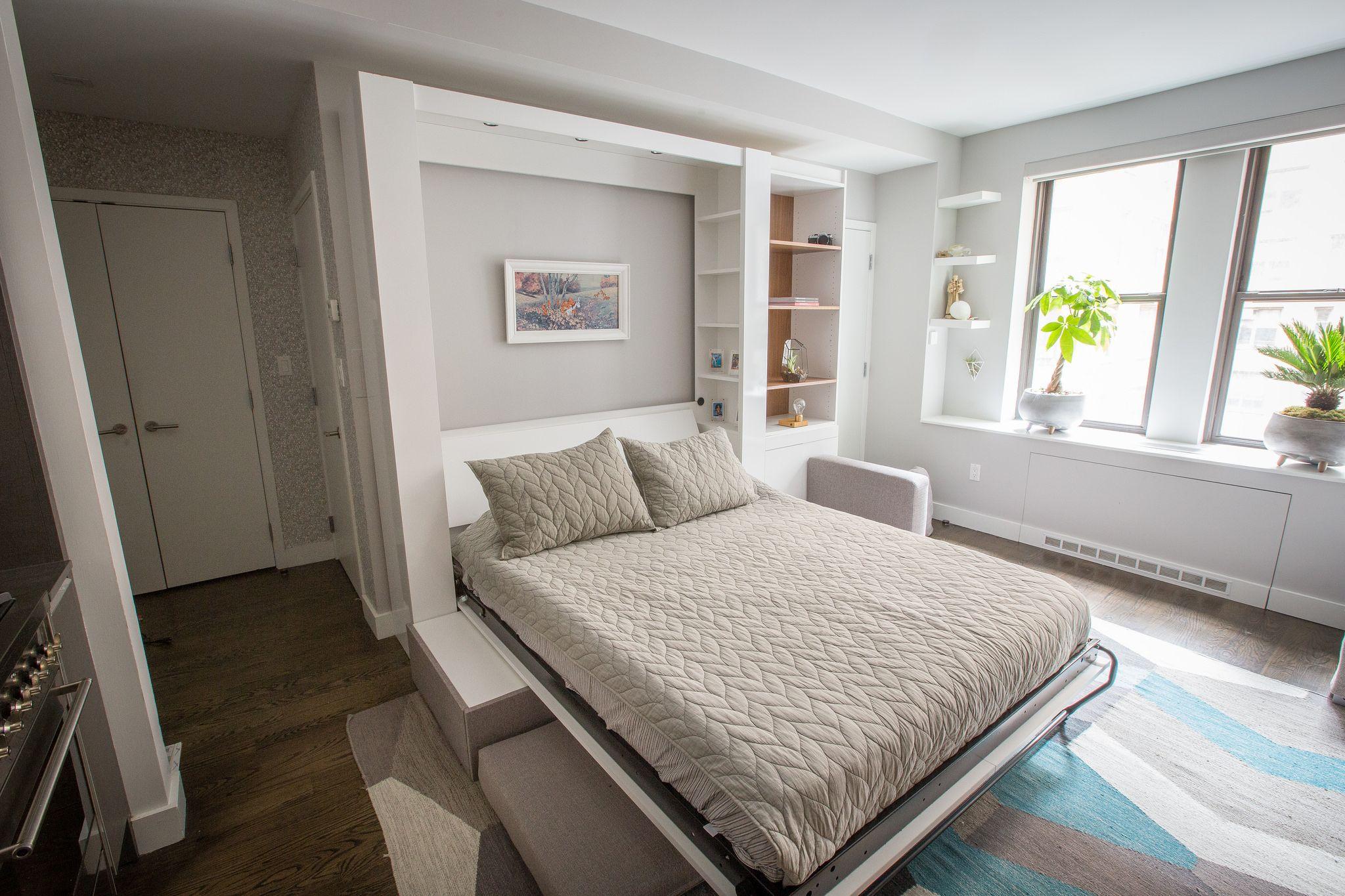 Space Optimized Apartment hacks, Small studio apartments