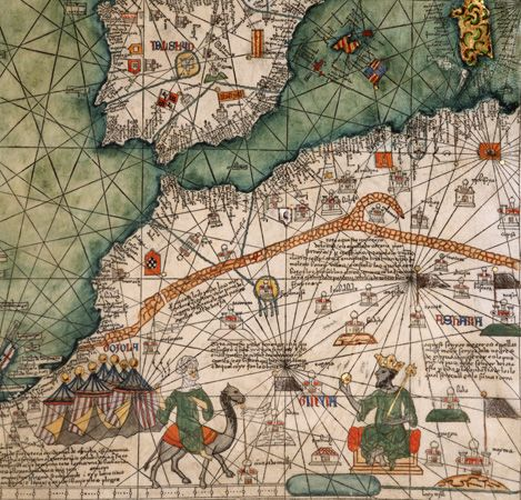 North africa and spain including the mali empire from the catalan north africa and spain including the mali empire from the catalan atlas by gumiabroncs Image collections