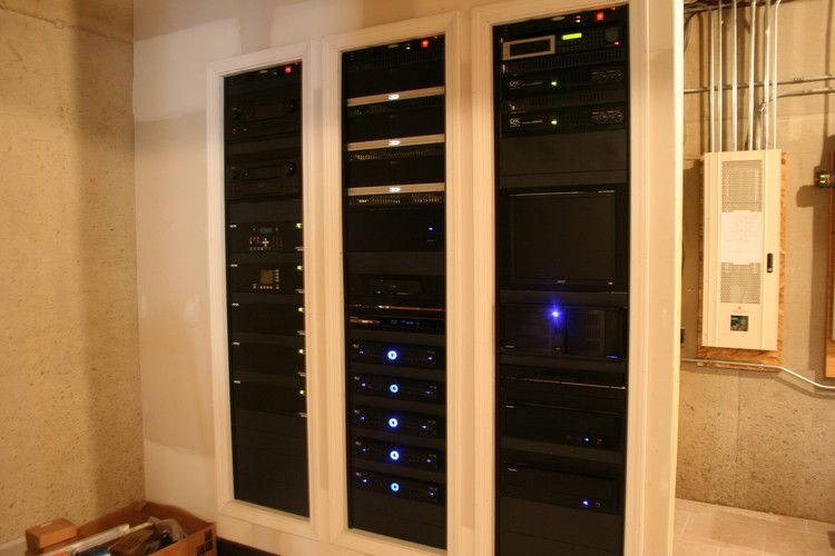 Our racks for Whole House AV and Control | TV Stand | Pinterest ...