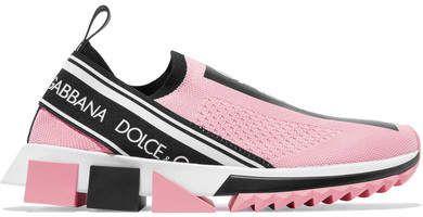 Logo Mesh Print Pinkflexible sock Sorrento Sneakers structural 1TJFKlc