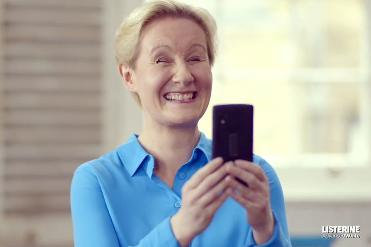This Amazing Listerine App Lets Blind People 'Feel' a Smile