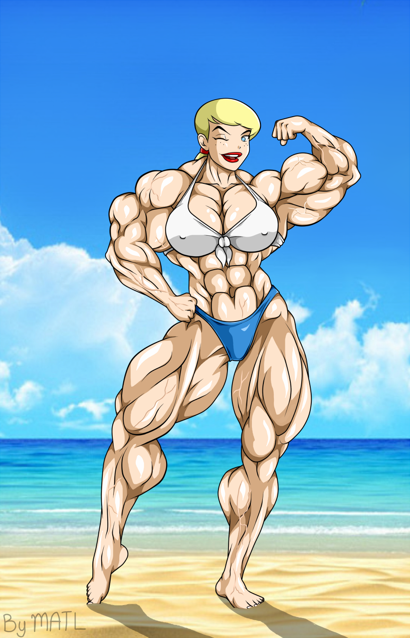 Emmylou At The Beach By Matl On Deviantart Muscle Beach