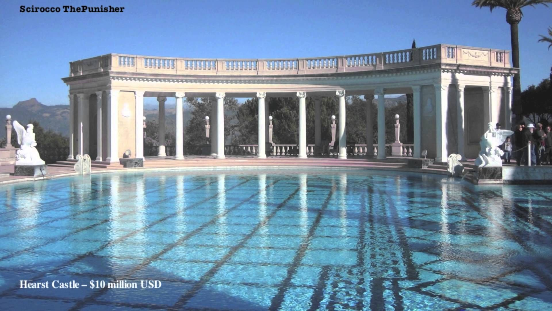 Top 10 Most Expensive Swimming Pools 2015 Hd American Castles