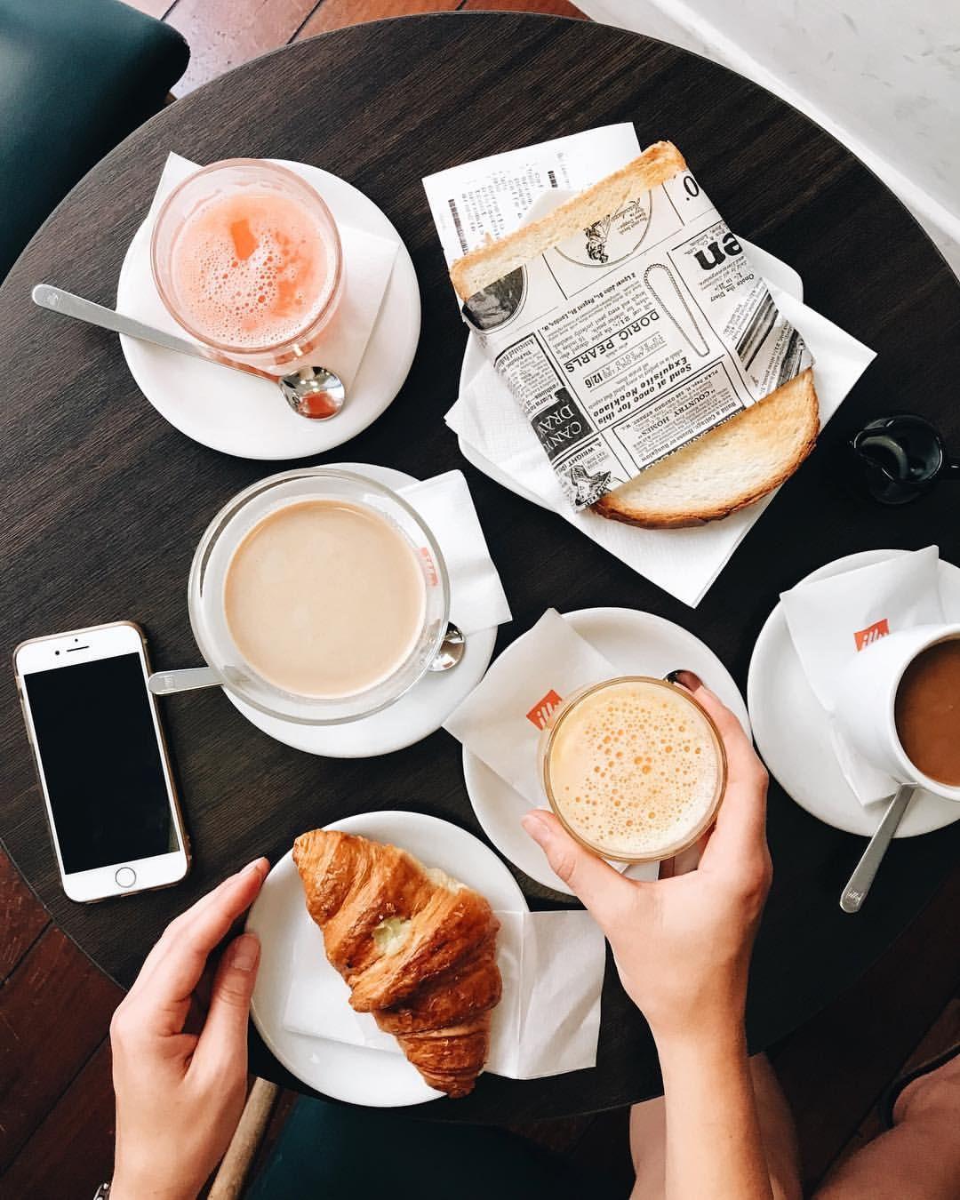 Instagram, Frühstück