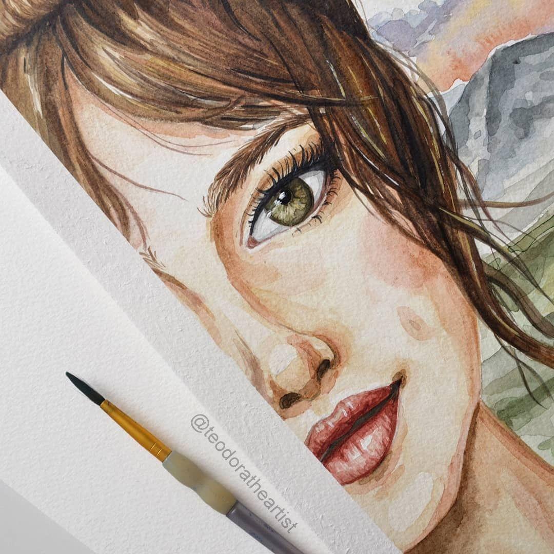 Watercolor Art Watercolor Art People Watercolor Art Ideas