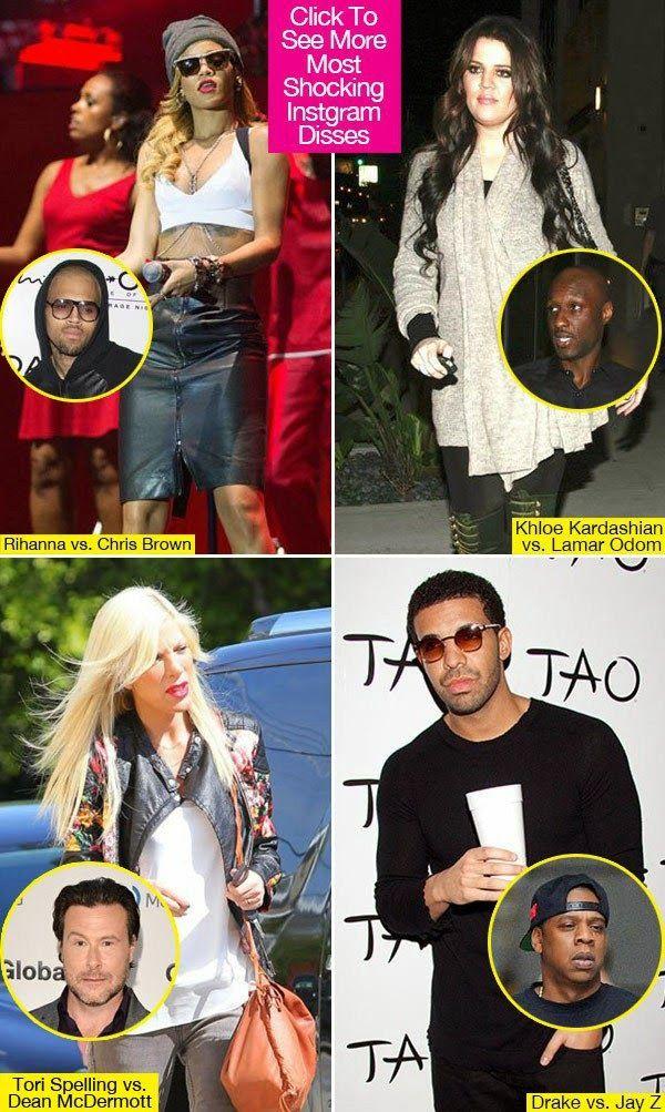 Selena Gomez, Justin Bieber, & More: 8 Most Shocking Instagram Disses - celebrity couples news
