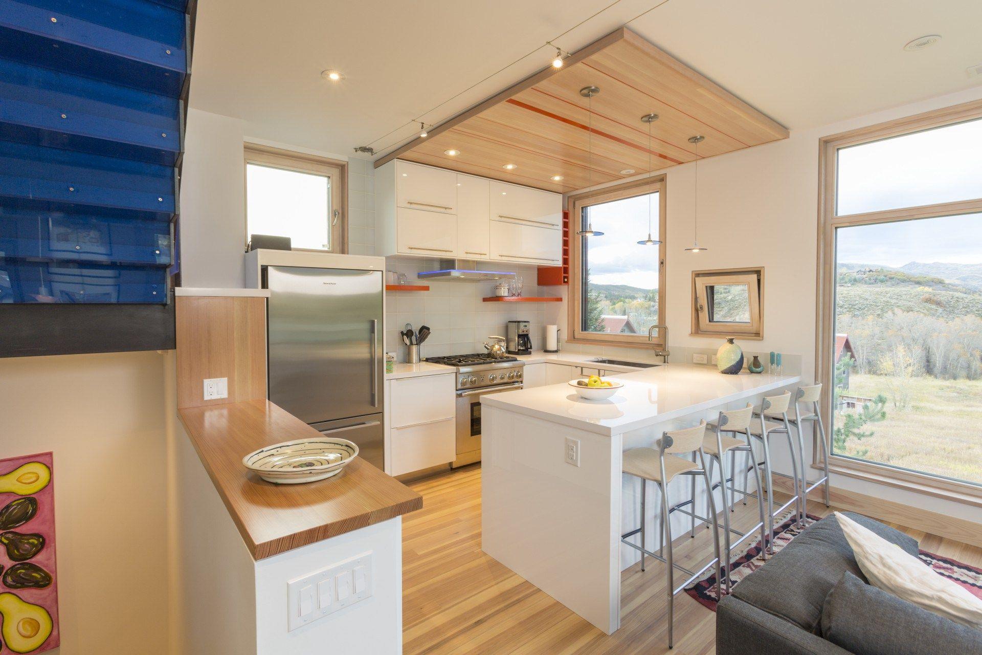 Butcherknife Residence Small House Design Passive House Design Residential Design
