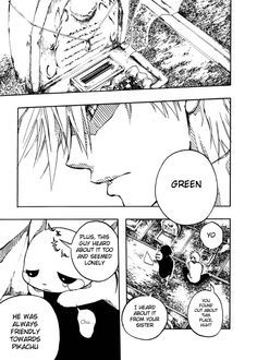 Pokemon Manga: Green's Eevee (click thru to read)