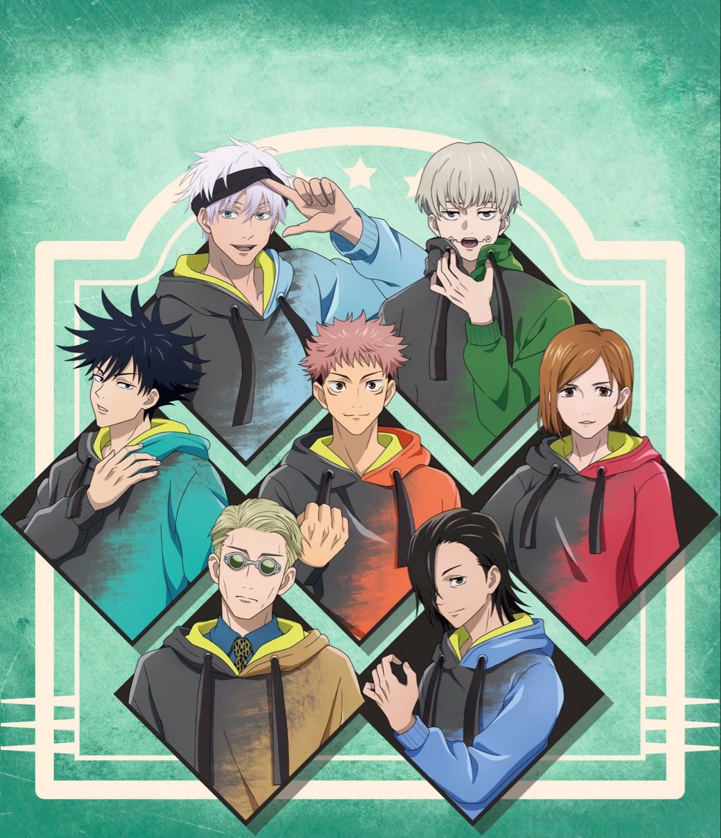 Jujutsu Kaisen Official Art Jujutsu Art Anime Characters