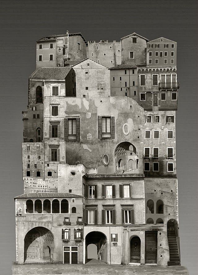 Large Scale Architectural Collages by Anastasia Savinova ...  Large Scale Arc...