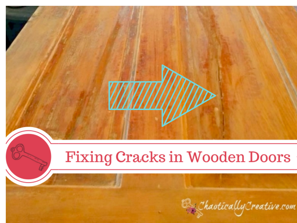 Repairing Cracks In Wooden Door Panels Chaotically Creative