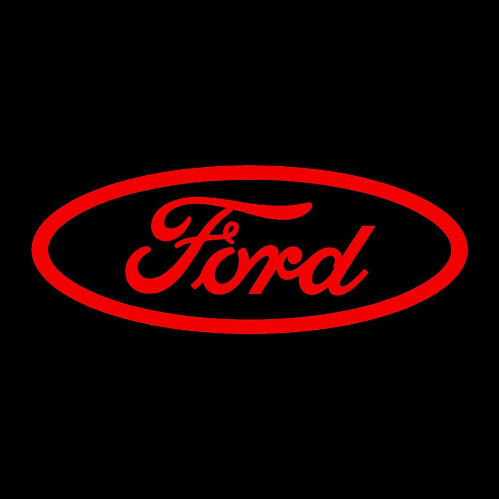 Ford Decal Sticker 14 X5 5 Red Vinyl Ford Emblem Ford Logo