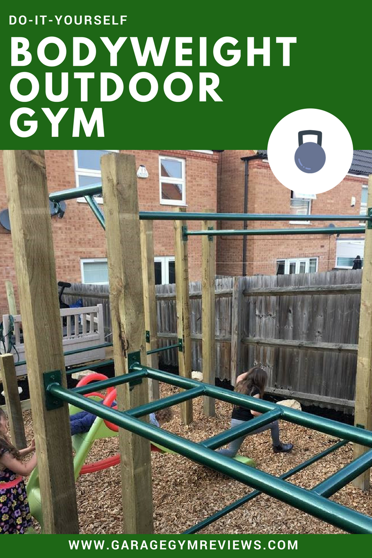 Diy outdoor bodyweight gym diy fitness equipment no equipment