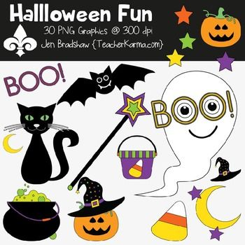 Halloween Fun Clipart ~ Commercial Use OK ~ Autumn ...