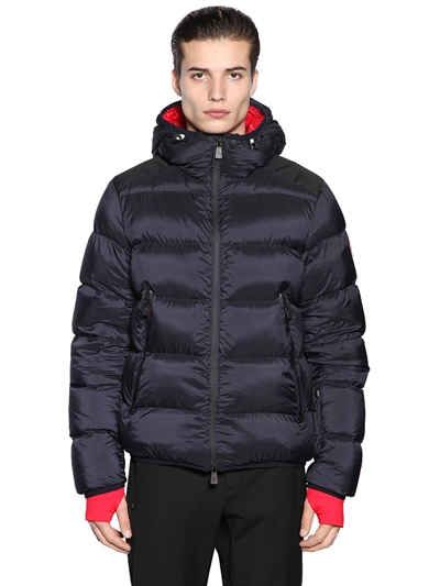 MONCLER GRENOBLE HINTERTUX HOODED DOWN JACKET. #monclergrenoble #skiing