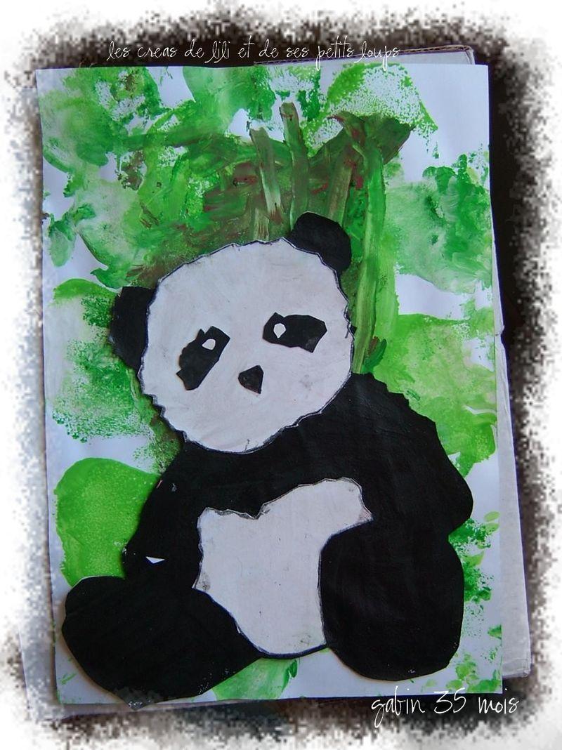 Panda gabin asie pinterest panda chine et asie - Coloriage panda maternelle ...