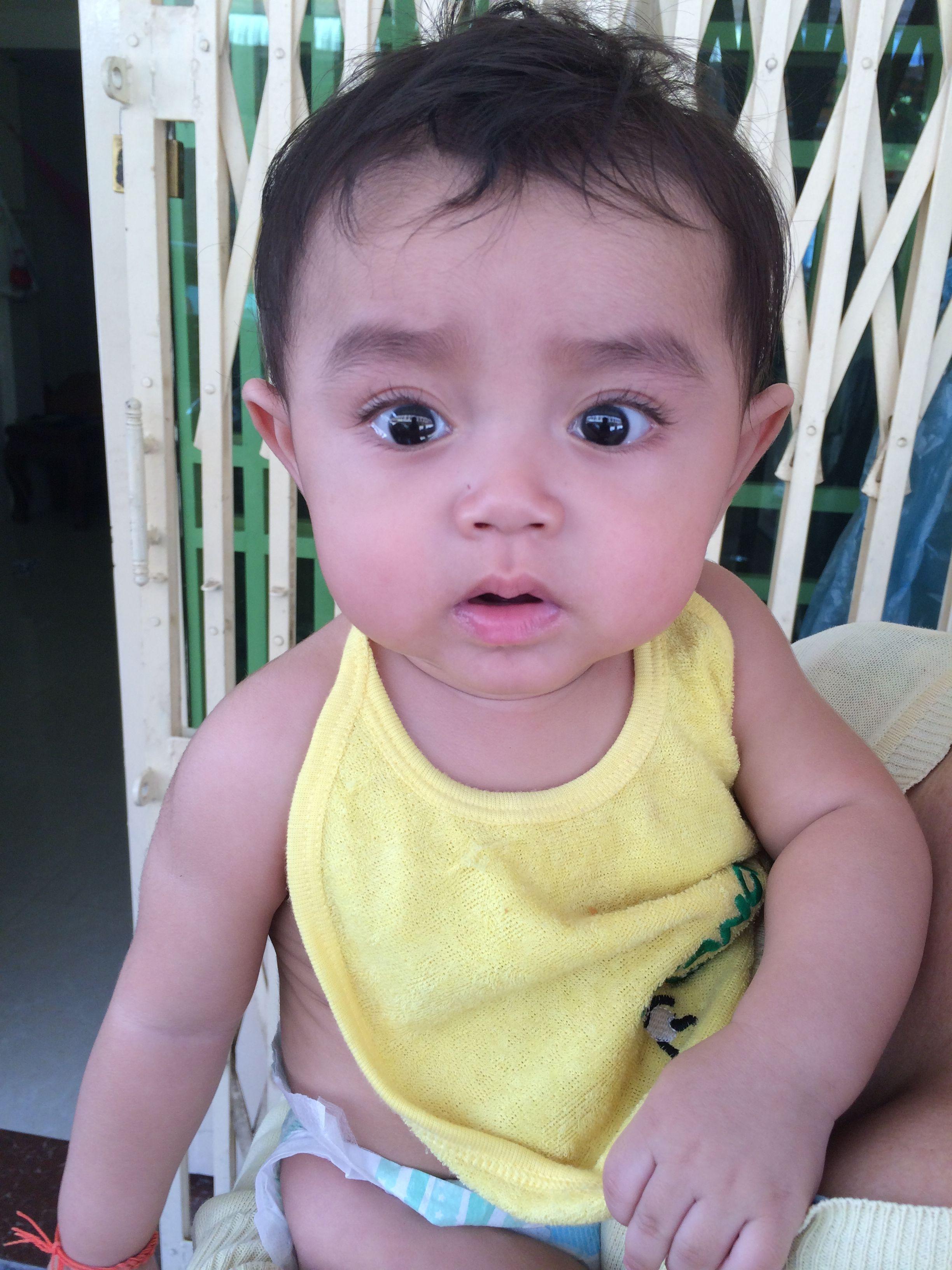8month of my nephew